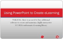 Using PowerPoint to Create eLearning Title Slide